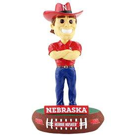 ボブルヘッド バブルヘッド 首振り人形 ボビンヘッド BOBBLEHEAD 【送料無料】FOCO NCAA Nebraska Cornhuskers Unisex Mascot Baller BOBBLEMASCOT Baller Bobble, Team Color, OSボブルヘッド バブルヘッド 首振り人形 ボビンヘッド BOBBLEHEAD