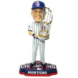 ボブルヘッド バブルヘッド 首振り人形 ボビンヘッド BOBBLEHEAD 【送料無料】Forever Collectibles Miguel Montero Chicago Cubs 2016 World Series Bobblehead MLBボブルヘッド バブルヘッド 首振り人形 ボビンヘッド BOBBLEHEAD