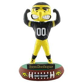 ボブルヘッド バブルヘッド 首振り人形 ボビンヘッド BOBBLEHEAD 【送料無料】FOCO NCAA Iowa Hawkeyes Mascot Baller Bobble, Team Color, OSボブルヘッド バブルヘッド 首振り人形 ボビンヘッド BOBBLEHEAD