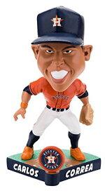 ボブルヘッド バブルヘッド 首振り人形 ボビンヘッド BOBBLEHEAD Forever Collectibles Carlos Correa Houston Astros Caricature Special Edtion Bobblehead MLBボブルヘッド バブルヘッド 首振り人形 ボビンヘッド BOBBLEHEAD