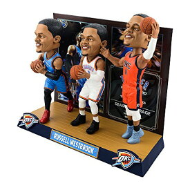 ボブルヘッド バブルヘッド 首振り人形 ボビンヘッド BOBBLEHEAD Russell Westbrook (Oklahoma City Thunder) Triple Threat Bobblehead #/500ボブルヘッド バブルヘッド 首振り人形 ボビンヘッド BOBBLEHEAD