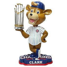 """ボブルヘッド バブルヘッド 首振り人形 ボビンヘッド BOBBLEHEAD FOCO MLB Chicago Cubs 2016 World Series Champions Mascot 8"""" Bobble, Team Color, One Sizeボブルヘッド バブルヘッド 首振り人形 ボビンヘッド BOBBLEHEAD"""