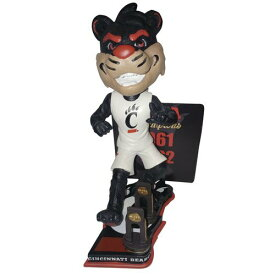 ボブルヘッド バブルヘッド 首振り人形 ボビンヘッド BOBBLEHEAD 【送料無料】Forever Collectibles Bearcat Mascot Cincinnati Bearcats University of Cincinnati NCAA Men's Basketball Nationaボブルヘッド バブルヘッド 首振り人形 ボビンヘッド BOBBLEHEAD