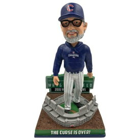 ボブルヘッド バブルヘッド 首振り人形 ボビンヘッド BOBBLEHEAD 【送料無料】Forever Collectibles Joe Maddon The Curse is Over! Chicago Cubs 2016 World Series Bobbleheadボブルヘッド バブルヘッド 首振り人形 ボビンヘッド BOBBLEHEAD