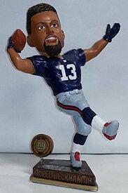 """ボブルヘッド バブルヘッド 首振り人形 ボビンヘッド BOBBLEHEAD 【送料無料】Odell Beckham Jr. """"The Catch"""" (New York Giants) 2015 Springy Logo Action Bobble Head Forever Collectibles by Cボブルヘッド バブルヘッド 首振り人形 ボビンヘッド BOBBLEHEAD"""