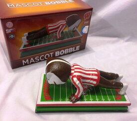 """ボブルヘッド バブルヘッド 首振り人形 ボビンヘッド BOBBLEHEAD 【送料無料】Wisconsin Badgers Bucky Badger Mascot Bobblehead """"Push-Ups"""" LE #/216ボブルヘッド バブルヘッド 首振り人形 ボビンヘッド BOBBLEHEAD"""