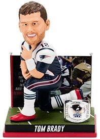 ボブルヘッド バブルヘッド 首振り人形 ボビンヘッド BOBBLEHEAD Forever Collectibles Tom Brady New England Patriots Super Bowl Special Edition - 4h Win Bobbleheadボブルヘッド バブルヘッド 首振り人形 ボビンヘッド BOBBLEHEAD
