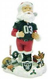 ボブルヘッド バブルヘッド 首振り人形 ボビンヘッド BOBBLEHEAD 【送料無料】Forever Collectibles NFL Oakland Raiders Mens Oakland Raiders Santa Claus Bobblehead, Team Colors One Sizeボブルヘッド バブルヘッド 首振り人形 ボビンヘッド BOBBLEHEAD