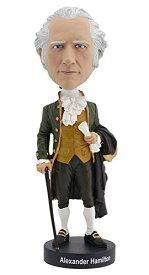 ボブルヘッド バブルヘッド 首振り人形 ボビンヘッド BOBBLEHEAD 【送料無料】Royal Bobbles Alexander Hamilton Bobbleheadボブルヘッド バブルヘッド 首振り人形 ボビンヘッド BOBBLEHEAD