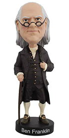 ボブルヘッド バブルヘッド 首振り人形 ボビンヘッド BOBBLEHEAD 【送料無料】Royal Bobbles Benjamin Franklin V2 Bobbleheadボブルヘッド バブルヘッド 首振り人形 ボビンヘッド BOBBLEHEAD