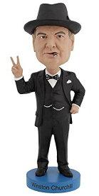 ボブルヘッド バブルヘッド 首振り人形 ボビンヘッド BOBBLEHEAD 【送料無料】Royal Bobbles Winston Churchill V2 Bobbleheadボブルヘッド バブルヘッド 首振り人形 ボビンヘッド BOBBLEHEAD