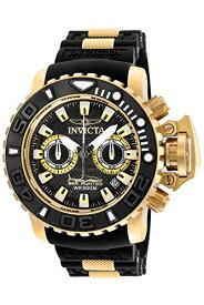 インヴィクタ インビクタ 腕時計 メンズ Invicta Men's Sea Hunter Stainless Steel Swiss-Quartz Watch with Silicone Strap, Black, 25 (Model: 20475)インヴィクタ インビクタ 腕時計 メンズ
