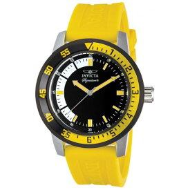 インヴィクタ インビクタ 腕時計 メンズ Invicta Signature II Black and Yellow Rubber Strap Mens Watch 7467インヴィクタ インビクタ 腕時計 メンズ