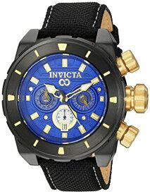 インヴィクタ インビクタ 腕時計 メンズ 【送料無料】Invicta Men's Corduba Stainless Steel Quartz Watch with Nylon Strap, Black, 24 (Model: 22335)インヴィクタ インビクタ 腕時計 メンズ