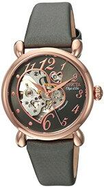 腕時計 インヴィクタ インビクタ レディース 【送料無料】Invicta Women's Objet D Art Stainless Steel Automatic-self-Wind Watch with Satin Strap, Grey, 0.65 (Model: 22649)腕時計 インヴィクタ インビクタ レディース