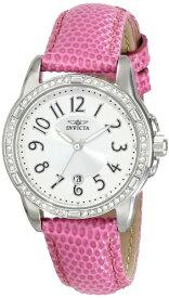 インヴィクタ インビクタ エンジェル 腕時計 レディース Invicta Women's 16339 Angel Crystal-Accented Stainless Steel Watch with Pink Leather Strapインヴィクタ インビクタ エンジェル 腕時計 レディース