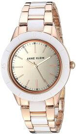 アンクライン 腕時計 レディース 【送料無料】Anne Klein Women's AK/3160WTRG Rose Gold-Tone and White Ceramic Bracelet Watchアンクライン 腕時計 レディース