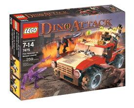 レゴ 【送料無料】LEGO Dino Attack Fire Hammer vs. Mutant Lizardレゴ
