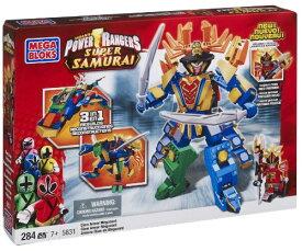 メガブロック メガコンストラックス 組み立て 知育玩具 【送料無料】Mega Bloks Power Rangers Samurai Claw Armor Megazordメガブロック メガコンストラックス 組み立て 知育玩具