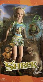 バービー バービー人形 日本未発売 【送料無料】Far Far Away SHREK BARBIE DOLL has Shrek EARS & Comes w SHREK KEYCHAIN (2004)バービー バービー人形 日本未発売