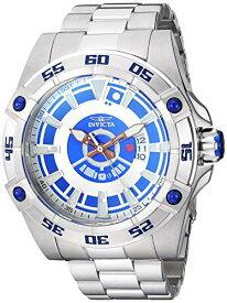 インヴィクタ インビクタ 腕時計 メンズ 【送料無料】Invicta Men's Star Wars Automatic-self-Wind Watch with Stainless-Steel Strap, Silver, 24.5 (Model: 26519)インヴィクタ インビクタ 腕時計 メンズ