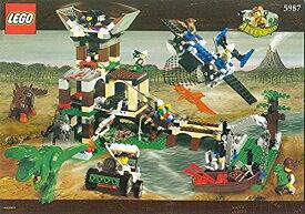 レゴ 【送料無料】LEGO Adventurers Dino Island 5987 Dino Research Compoundレゴ