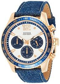ゲス GUESS 腕時計 メンズ Guess Watches Men's -Rose Gold Denim Watchゲス GUESS 腕時計 メンズ