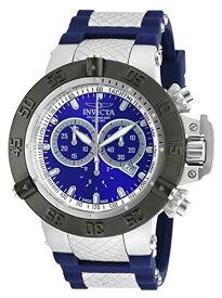 インヴィクタ インビクタ サブアクア 腕時計 メンズ 【送料無料】Invicta Men's Subaqua Stainless Steel Swiss-Quartz Watch with Silicone Strap, Blue, 29 (Model: 90128)インヴィクタ インビクタ サブアクア 腕時計 メンズ