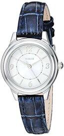 腕時計 タイメックス レディース 【送料無料】Timex Women's TW2R86000 Classic 26mm Blue/Silver-Tone Croco Pattern Leather Strap Watch腕時計 タイメックス レディース