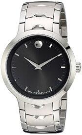 腕時計 モバード メンズ 【送料無料】Movado Men's Swiss Quartz Stainless Steel Watch, Color: Silver-Toned (Model: 0607041)腕時計 モバード メンズ