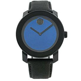 腕時計 モバード メンズ 【送料無料】Movado Bold Black/Blue Dial Mens Watch 3600481腕時計 モバード メンズ