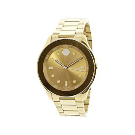 腕時計 モバード レディース 【送料無料】Movado Women's Swiss-Quartz Watch with Gold-Plated-Stainless-Steel Strap, 19 (Model: 3600416)腕時計 モバード レディース