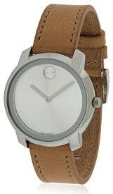 腕時計 モバード レディース 【送料無料】Movado Silver Dial Ladies Watch 3600473腕時計 モバード レディース