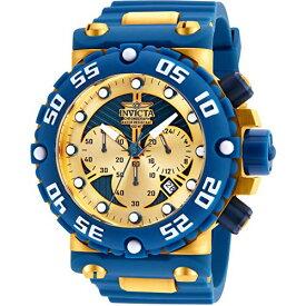 インヴィクタ インビクタ サブアクア 腕時計 メンズ Invicta Men's 25041 Subaqua Quartz Multifunction Gold, Blue Dial Watchインヴィクタ インビクタ サブアクア 腕時計 メンズ