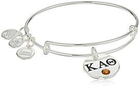 アレックスアンドアニ アメリカ アクセサリー ブランド かわいい Alex and Ani Women's Color Infusion Kappa Alpha Theta II EWB Bracelet, Shiny Silverアレックスアンドアニ アメリカ アクセサリー ブランド かわいい