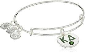 アレックスアンドアニ アメリカ アクセサリー ブランド かわいい Alex and Ani Women's Color Infusion Kappa Delta II EWB Bracelet, Shiny Silverアレックスアンドアニ アメリカ アクセサリー ブランド かわいい