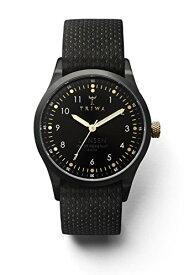 腕時計 トリワ メンズ 北欧 ヨーロッパ 【送料無料】Triwa Unisex LAST112-MD010113 Midnight Lansen Black Watch with Black Organic Leather Band腕時計 トリワ メンズ 北欧 ヨーロッパ
