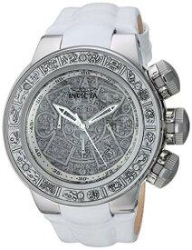 インヴィクタ インビクタ サブアクア 腕時計 メンズ Invicta Men's Subaqua Stainless Steel Quartz Watch with Leather Strap, White, 30.5 (Model: 28242)インヴィクタ インビクタ サブアクア 腕時計 メンズ