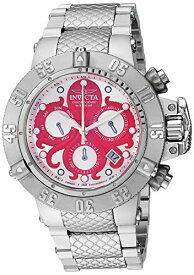 インヴィクタ インビクタ サブアクア 腕時計 メンズ Invicta Men's Subaqua Analog Quartz Watch with Stainless Steel Strap, Silver, 28 (Model: 27869)インヴィクタ インビクタ サブアクア 腕時計 メンズ