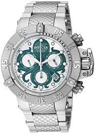 インヴィクタ インビクタ サブアクア 腕時計 メンズ Invicta Men's Subaqua Swiss Quartz Watch with Stainless Steel Strap, Silver, 28 (Model: 27873)インヴィクタ インビクタ サブアクア 腕時計 メンズ
