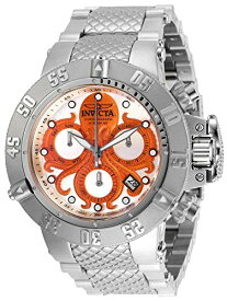 インヴィクタ インビクタ サブアクア 腕時計 メンズ Invicta Men's Subaqua Quartz Watch with Stainless Steel Strap, Silver, 28 (Model: 27872)インヴィクタ インビクタ サブアクア 腕時計 メンズ