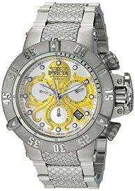 インヴィクタ インビクタ サブアクア 腕時計 メンズ Invicta Men's Subaqua Quartz Watch with Stainless Steel Strap, Silver, 27 (Model: 27871)インヴィクタ インビクタ サブアクア 腕時計 メンズ