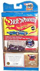 ホットウィール マテル ミニカー ホットウイール 【送料無料】Hot Wheels - Twin Mill Collector's Edition (Metalflake Purple) - 30th Anniversary Collection - 1969 Authentic Commemorative Replica w/Certifホットウィール マテル ミニカー ホットウイール
