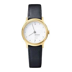 モンディーン 北欧 スイス 腕時計 メンズ Mondaine Men's 'Helvetica No.1' Quartz Stainless Steel and Black Leather Casual Watch (Model: MH1L1111LB)モンディーン 北欧 スイス 腕時計 メンズ
