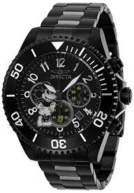 インヴィクタ インビクタ 腕時計 メンズ ディズニー 【送料無料】Invicta Men's Disney Limited Edition Quartz Watch with Stainless Steel Strap, Black, 22 (Model: 27754)インヴィクタ インビクタ 腕時計 メンズ ディズニー