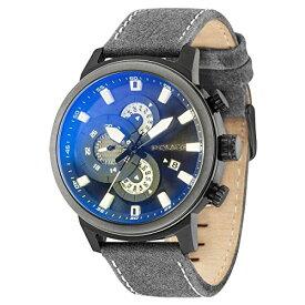 ポリス 腕時計 メンズ Police EXPLORER PL15037JSBU.02 Mens Chronograph Design Highlightポリス 腕時計 メンズ