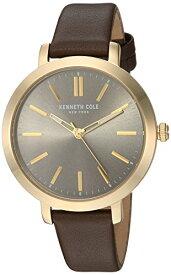 ケネスコール・ニューヨーク Kenneth Cole New York 腕時計 レディース 【送料無料】Kenneth Cole New York Women's Quartz Stainless Steel and Leather Casual Watch, Color:Beige (Model:ケネスコール・ニューヨーク Kenneth Cole New York 腕時計 レディース