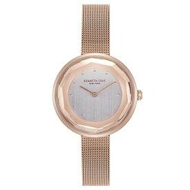ケネスコール・ニューヨーク Kenneth Cole New York 腕時計 レディース 【送料無料】Kenneth Cole New York Female Analog-Quartz Watch with Rose Gold Strap, Stainless Steel, 12 (Model:ケネスコール・ニューヨーク Kenneth Cole New York 腕時計 レディース