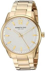 ケネスコール・ニューヨーク Kenneth Cole New York 腕時計 メンズ 【送料無料】Kenneth Cole New York Men's Classic Japanese-Quartz Watch with Stainless-Steel Strap, Gold, 21.2 (Model: Kケネスコール・ニューヨーク Kenneth Cole New York 腕時計 メンズ