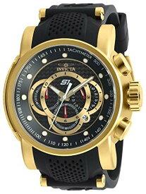 腕時計 インヴィクタ インビクタ メンズ 【送料無料】Invicta Men's S1 Rally Stainless Steel Quartz Watch with Silicone Strap, Black, 26 (Model: 19327)腕時計 インヴィクタ インビクタ メンズ